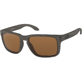 Oakley Holbrook XL Sunglasses woodgrain/prizm tungsten polarized